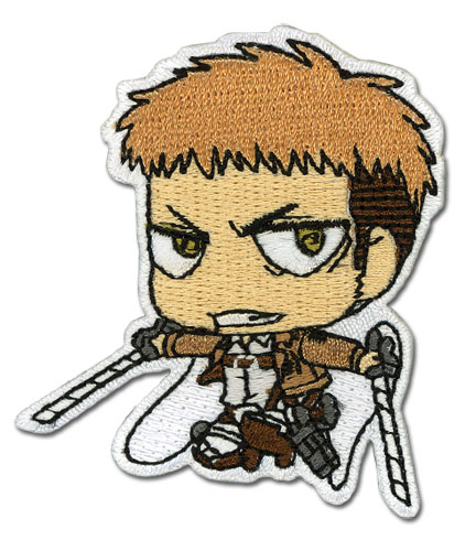 Attack On Titan - Jean Sd Patch, an officially licensed Attack On Titan product at B.A. Toys.