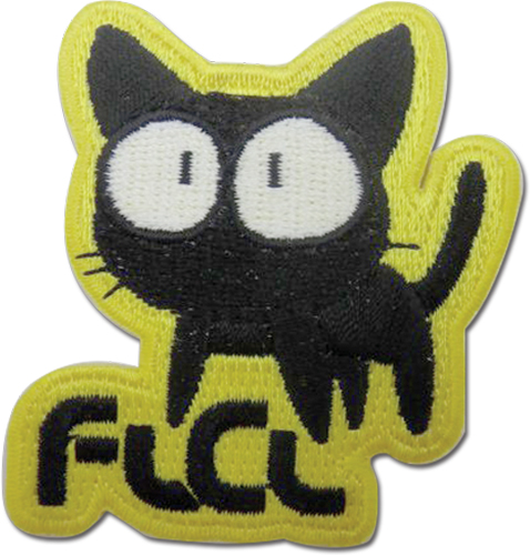 Flcl - Takkun Cat Patch officially licensed Flcl Patches product at B.A. Toys.