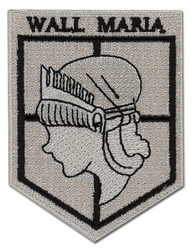 Attack On Titan - Wall Maria Patch, an officially licensed product in our Attack On Titan Patches department.