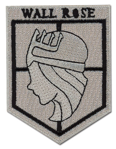 Attack On Titan - Wall Rose Patch, an officially licensed Attack On Titan product at B.A. Toys.