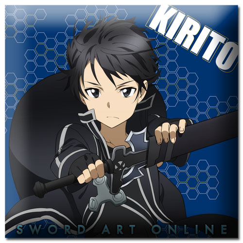 Sword Art Online - Kirito Pillow officially licensed Sword Art Online Pillows product at B.A. Toys.