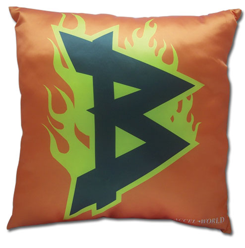 Accel World Brain Burst Square Pillow, an officially licensed Accel World product at B.A. Toys.