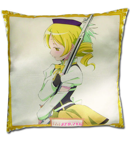 Madoka Magica Movie - Mami Square Pillow, an officially licensed product in our Madoka Magica Pillows department.