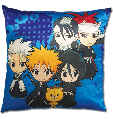 Bleach - Sd Group Square Pillow, an officially licensed Bleach Pillow