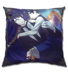 Black Butler 2 Sebastain & Ciel Square Pillow, an officially licensed Black Butler product at B.A. Toys.