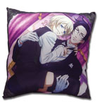 Black Butler 2 Claude & Aloise Square Pillow, an officially licensed product in our Black Butler Pillows department.
