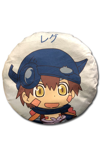Made In Abyss - Nanachi Round Throw Pillow, an officially licensed product in our Made In Abyss Pillows department.