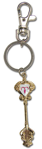 Fairy Tail Aries Key Keychain, an officially licensed product in our Fairy Tail Key Chains department.