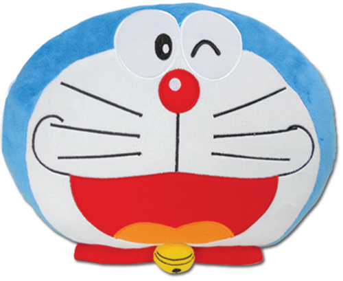 Doraemon - Doraemon Wink Smile Pillow officially licensed product at B.A. Toys.