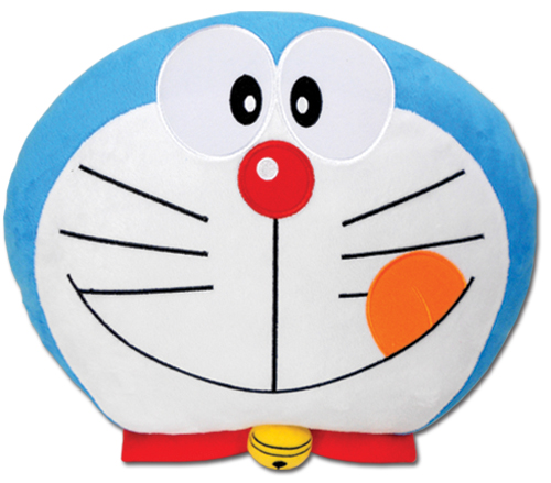 Doraemon - Doraemon Delicious Smile Pillow officially licensed product at B.A. Toys.