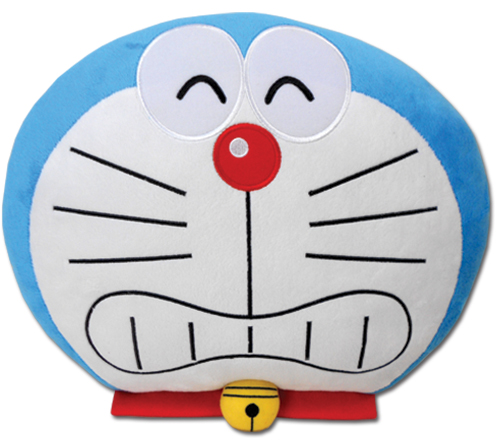 Doraemon - Doraemon Shy Smile Pillow officially licensed product at B.A. Toys.