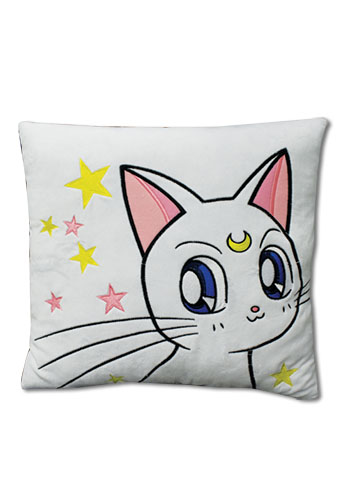 Sailor Moon Supers - Artemis Throw Pillow, an officially licensed product in our Sailor Moon Pillows department.