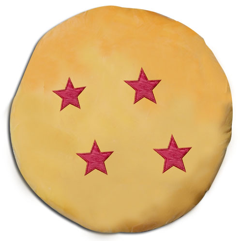 Dragon Ball Z - 4 Star Dragon Ball Pillow, an officially licensed product in our Dragon Ball Z Pillows department.