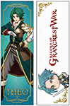 Record Of Grancrest War - Theo Body Pillow, an officially licensed product in our Record Of Grancrest War Pillows department.