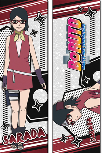 Boruto - Sarada Body Pillow, an officially licensed Boruto product at B.A. Toys.