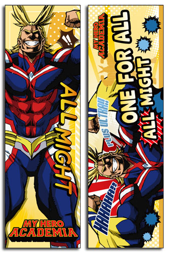 My Hero Academia - All Might Body Pillow officially licensed My Hero Academia Pillows product at B.A. Toys.