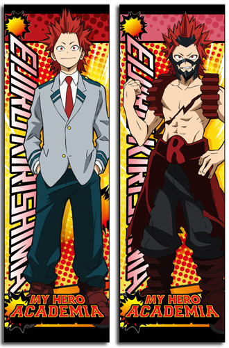 My Hero Academia - Kirishima Body Pillow officially licensed My Hero Academia Pillows product at B.A. Toys.