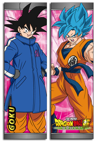 Dragon Ball Super Broly - Goku Body Pillow officially licensed Dragon Ball Super Broly Pillows product at B.A. Toys.