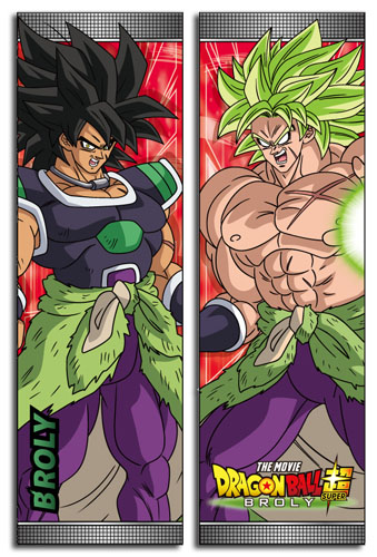 Dragon Ball Super Broly - Broly Body Pillow officially licensed Dragon Ball Super Broly Pillows product at B.A. Toys.