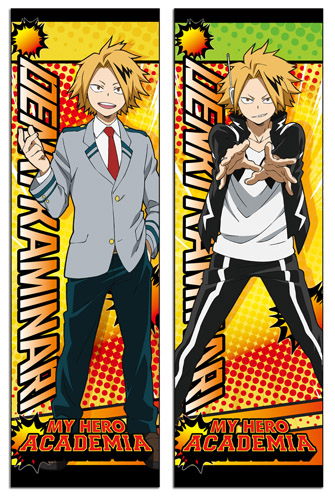 My Hero Academia - Kaminari Body Pillow officially licensed My Hero Academia Pillows product at B.A. Toys.