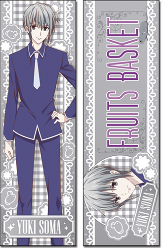 Fruits Basket 2019 - Yuki Body Pillow, an officially licensed product in our Fruits Basket Pillows department.