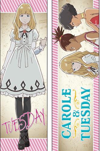 Carole & Tuesday - Tuesday Body Pillow, an officially licensed product in our Carole & Tuesday Pillows department.