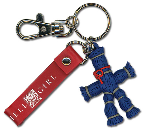 Hell Girl Straw Doll 3D Pvc Keychain, an officially licensed product in our Hell Girl Key Chains department.