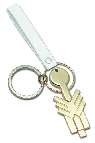 Code Geass Lancelot Key Metal Keychain officially licensed product at B.A. Toys.
