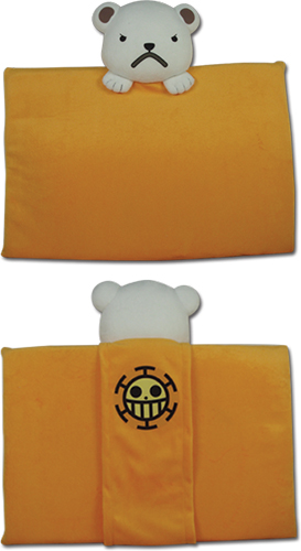 One Piece - Bepo Cushion Pillow officially licensed One Piece Pillows product at B.A. Toys.