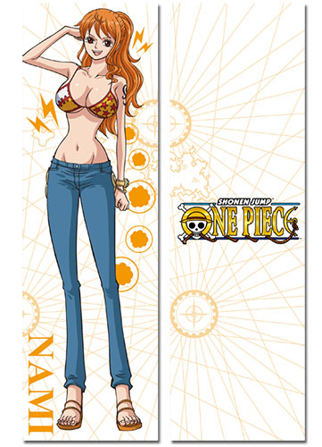One Piece - Nami New World Body Pillow officially licensed One Piece Pillows product at B.A. Toys.