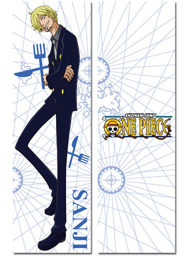 One Piece - Sanji New World Body Pillow officially licensed One Piece Pillows product at B.A. Toys.