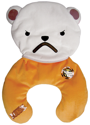 One Piece - Bepo Multi-Function Pillow officially licensed One Piece Pillows product at B.A. Toys.
