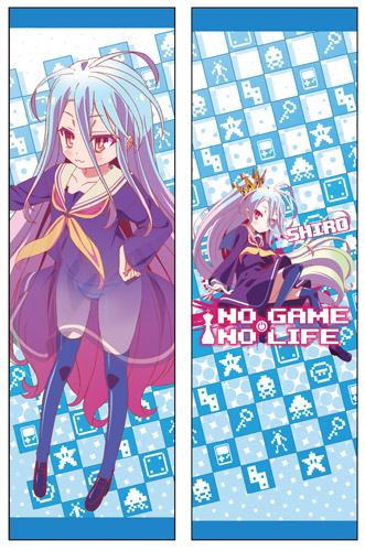 No Game No Life - Shiro Body Pillow, an officially licensed product in our No Game No Life Pillows department.