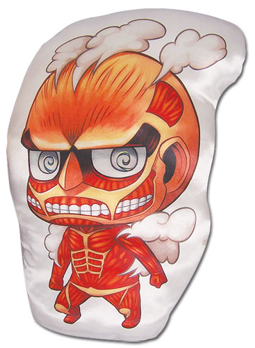 Attack On Titan - Titan Sd Plush Pillow 13'', an officially licensed product in our Attack On Titan Pillows department.