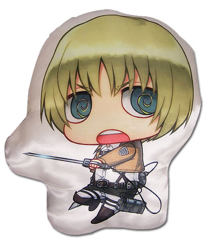 Attack On Titan - Armin Sd Plush Pillow officially licensed Attack On Titan Pillows product at B.A. Toys.