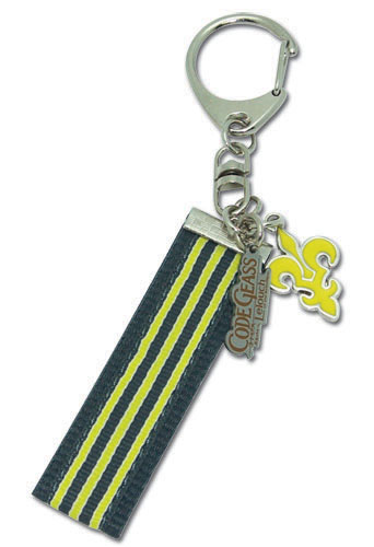 Code Geass Ashford School Emblem Keychain officially licensed product at B.A. Toys.