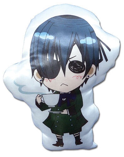 Black Butler - Ciel Sd Pillow, an officially licensed Black Butler product at B.A. Toys.