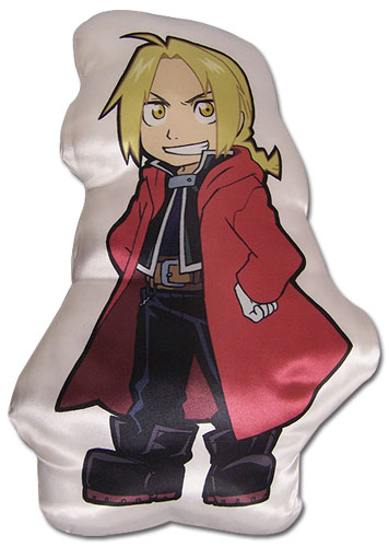 Fullmetal Alchemist Brotherhood - Edward Sd Plush Pillow officially licensed Fullmetal Alchemist Pillows product at B.A. Toys.