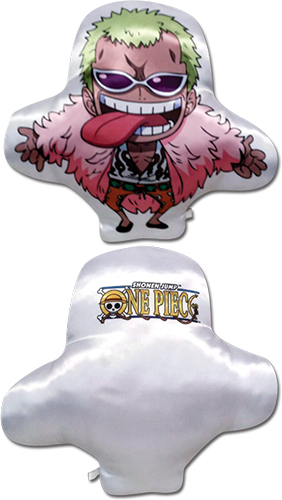 One Piece - Sd Doflamingo Plush Pillow, an officially licensed product in our One Piece Pillows department.