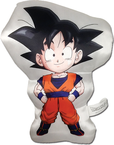 Dragon Ball Z - Sd Goku Plush Pillow officially licensed Dragon Ball Z Pillows product at B.A. Toys.