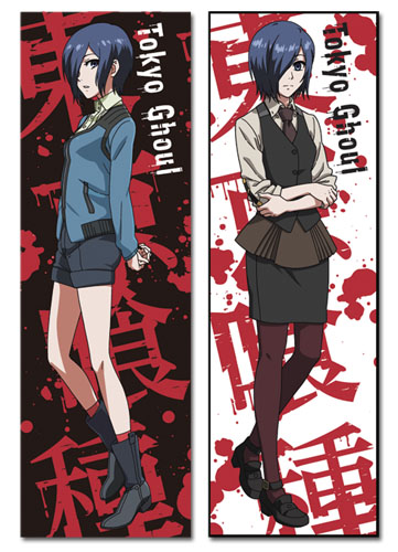 Tokyo Ghoul - Touka Body Pillow officially licensed Tokyo Ghoul Pillows product at B.A. Toys.