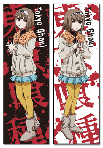 Tokyo Ghoul - Hinami Body Pillow officially licensed Tokyo Ghoul Pillows product at B.A. Toys.