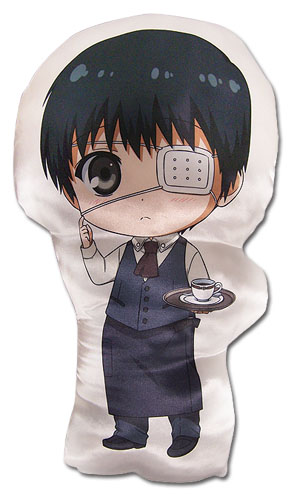 Tokyo Ghoul - Sd Kaneki Plush Pillow, an officially licensed product in our Tokyo Ghoul Pillows department.