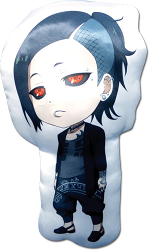 Tokyo Ghoul - Sd Uta Plush Pillow officially licensed Tokyo Ghoul Pillows product at B.A. Toys.