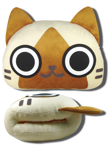 Monster Hunter - Airou Hand Warming Pillow, an officially licensed product in our Monster Hunter Pillows department.
