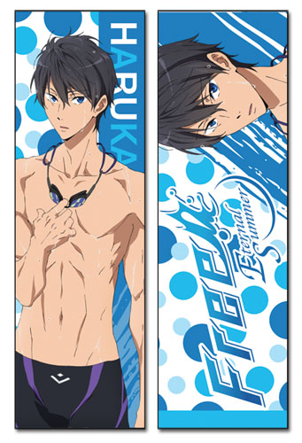 Free! 2 - Haruka Body Pillow officially licensed Free! Pillows product at B.A. Toys.