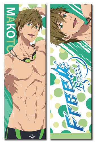 Free! 2 - Makoto Body Pillow officially licensed Free! Pillows product at B.A. Toys.