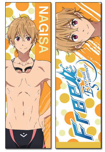 Free! - Nagisa Body Pillow, an officially licensed product in our Free! Pillows department.