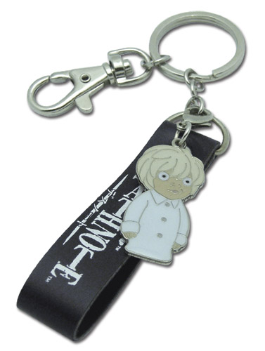 Death Note Near Finger Puppet Metal Keychain, an officially licensed Death Note Key Chain