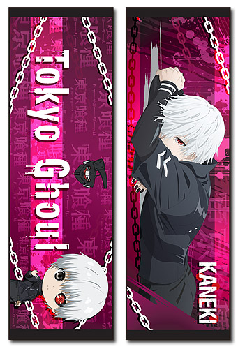 Tokyo Ghoul - Kaneki 02 Body Pillow officially licensed Tokyo Ghoul Pillows product at B.A. Toys.